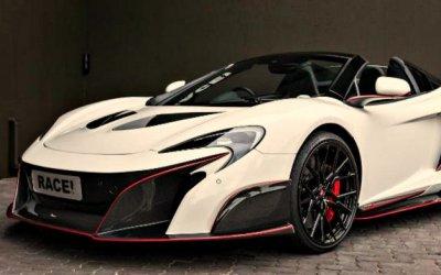 ВЮАР тюнинговали McLaren 650S Spider Sports