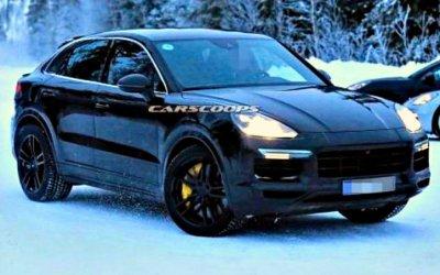 Наиспытания вышел Porsche Cayenne скупеобразным кузовом