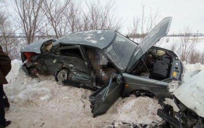 Женщина-водитель «Лады» погибла в ДТП в Кинель-Черкасском районе