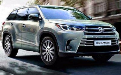 Объявлен отзыв кроссоверов Toyota Highlander