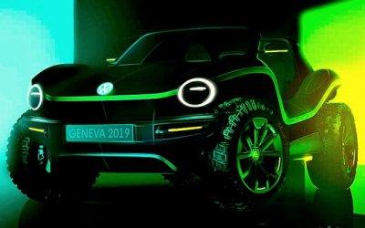 Volkswagen создал концепт-кар электробагги