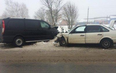 Три человека пострадали в ДТП в Стародубе
