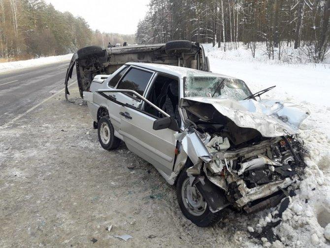 Пять человек пострадали в ДТП на трассе «Тамбов-Пенза» (1)