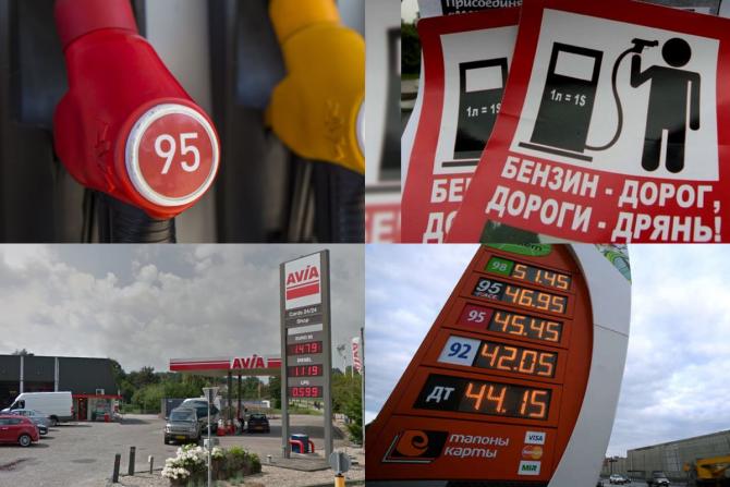 рейтинг стран по стоимости бензина