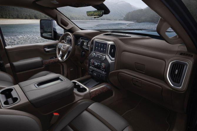 Пикап GMC Sierra HD получил новую кабину 3