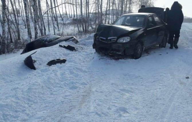 Пассажирка «Лады» погибла в ДТП в Башкирии (2)