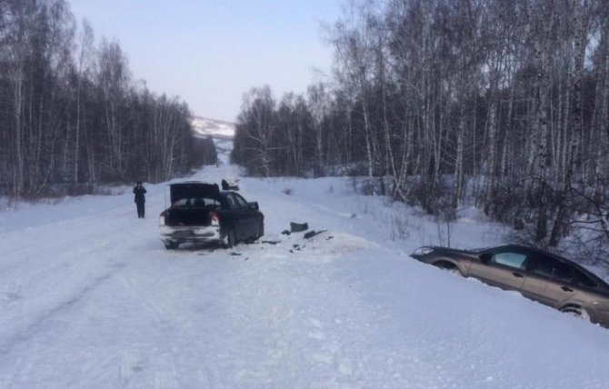 Пассажирка «Лады» погибла в ДТП в Башкирии (1)