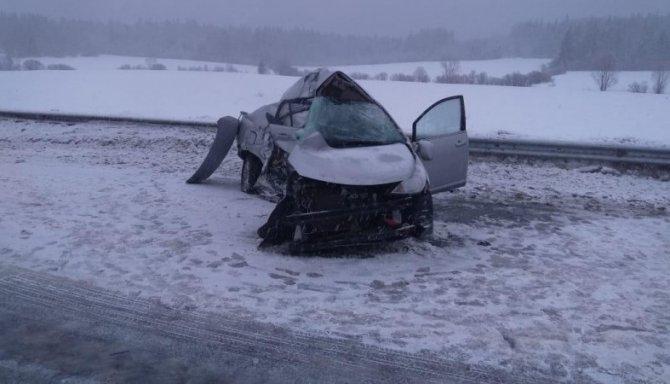Два человека погибли в ДТП в Карелии