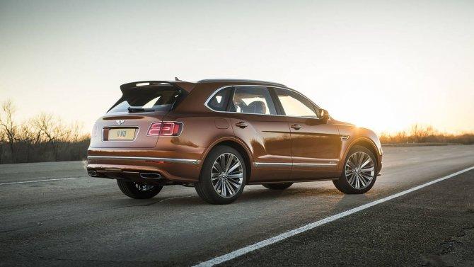 Bentley Bentayga Speed 6