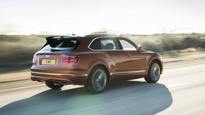 Bentley Bentayga Speed 5