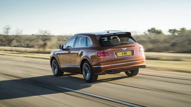 Bentley Bentayga Speed 12