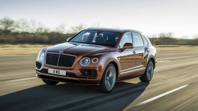 Bentley Bentayga Speed 18