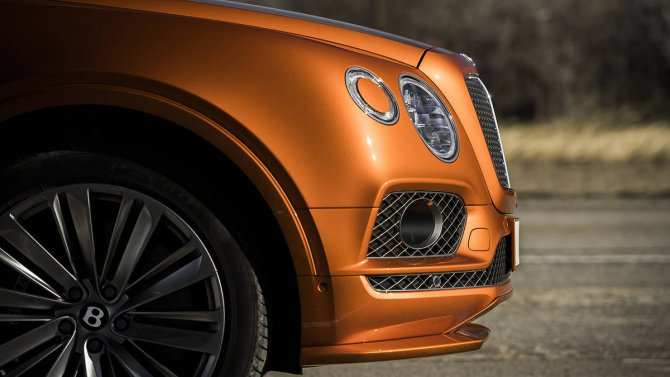 Bentley Bentayga Speed 19