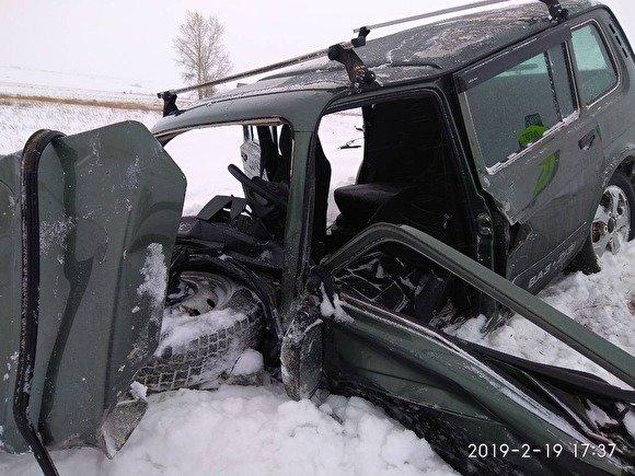 В ДТП в Троицком районе погибли трое, включая маленького ребенка (2)