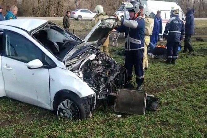 Пять человек пострадали в ДТП в Тимашевском районе (1)