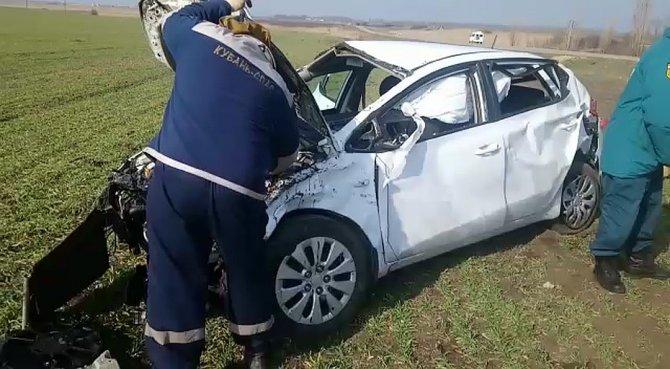 Пять человек пострадали в ДТП в Тимашевском районе (2)