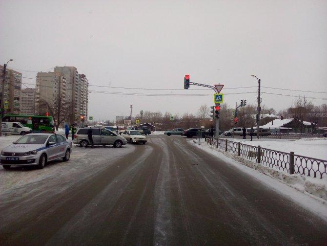 5-летний ребенок пострадал в ДТП в Екатеринбурге