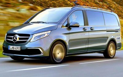 Новый Mercedes-Benz V-Classe: гибрид пимузина иавтобуса