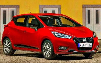 Обновлён хэтчбек Nissan Micra