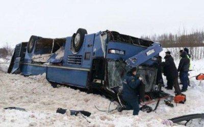 Под Калугой разбился автобус с детьми, ехавшими на музыкальный конкурс - 7 погибших