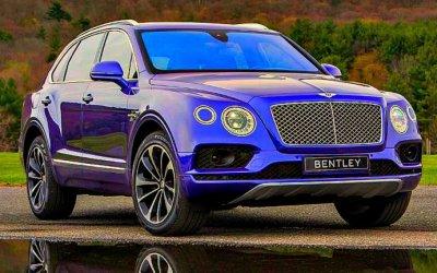 ВРоссии выросли продажи Bentley