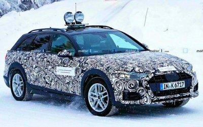 Начаты испытания обновлённого Audi A4 Allroad