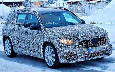 Mercedes-Benz испытывает очередную новинку