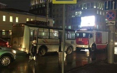 В Калуге ПАЗ сбил пешехода на переходе