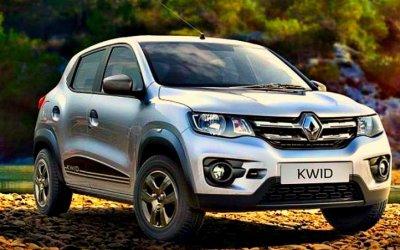 Обновлён кроссовер Renault Kwid