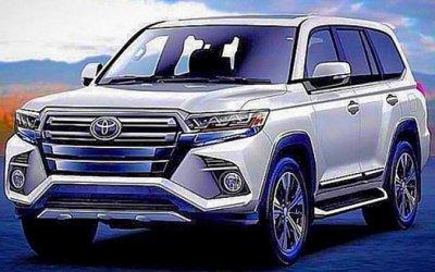 Toyota Land Cruiser 300 иLexusLX будут обновлены косени