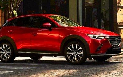 ВРоссию приедет компактный кроссовер Mazda CX-3