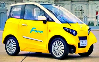 В Таиланде начались продажи электромобиля-амфибии