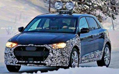 Автожурналистам попался обновлённый Audi A1 Allroad