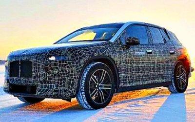 Начаты зимние испытания электрокроссовера BMW iNEXT