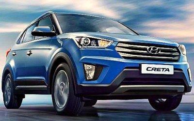 Hyundai Creta— январский бестселлер марки вРоссии