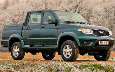 UAZ Patriot Pickup получил новые опции
