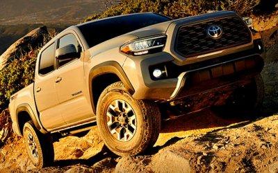 Toyota Tacoma: японцы обновили свой хит продаж вСША