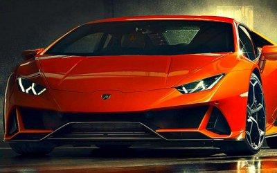 В Москве представлен обновлённый суперкар Lamborghini