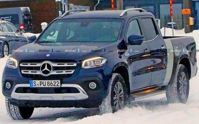 Mercedes испытывает новую версию своего пикапа