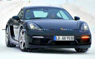 Надороги вышел странный Porsche 718 Cayman