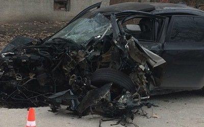 Водитель BMW погиб в ДТП под Симферополем