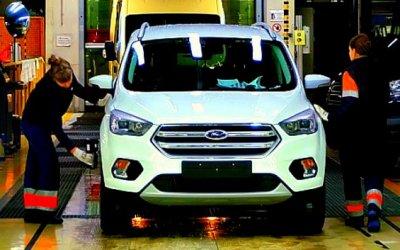 ВРоссии сделано 75000 кроссоверов Ford Kuga