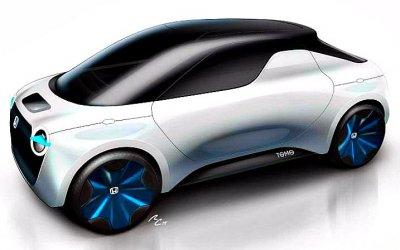 Honda создала компактный электропикап