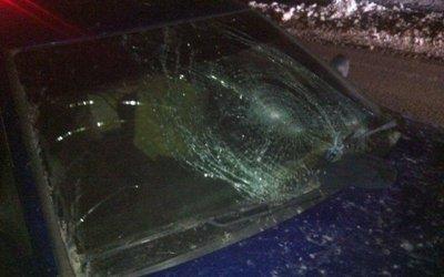 В Самаре «Приора» сбила пешехода