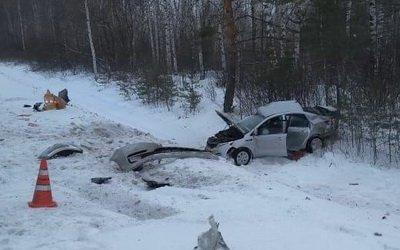В Сасовском районе иномарка столкнулась с грузовиком – пострадал человек