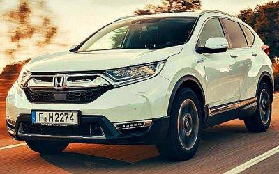 Кроссоверу Honda CR-V предрекли ажиотажный спрос вЕвропе