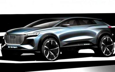 Audi готовит кпроизводству новый электрокроссовер