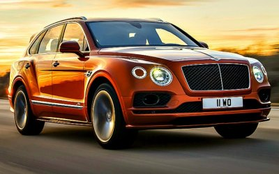 Самый скоростной кроссовер Bentley Bentayga Speed приедет и в Россию