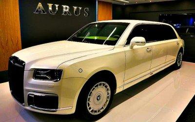 Презентация Aurus Senat Limousine прошла вАбу-Даби