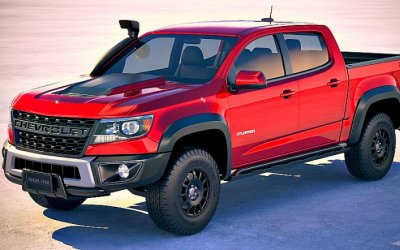 Пикап Chevrolet Colorado ZR2 Bison вызвал ажиотаж